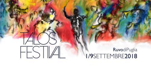 Da sabato 1 a domenica 9 settembre – Talos Festival a Ruvo di ... - meiweb.it