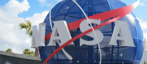 L'esterno del centro spaziale in Florida