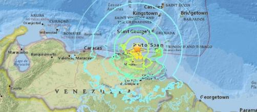 Un sismo de magnitud 7,3 sacudió la costa norte de Venezuela