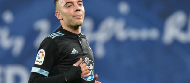 Iago Aspas, posible opción del Real Madrid