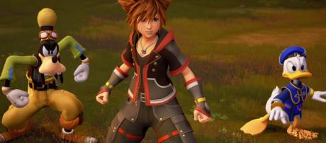 Sora and his friends prepares to fight Xehanort and the Heartless in 'Kingdom Hearts 3' [Image Credit: Square Enix/YouTube screencap]
