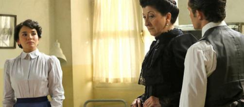 Anticipazioni Una Vita: Blanca mente alla Polizia per ordine della madre Ursula