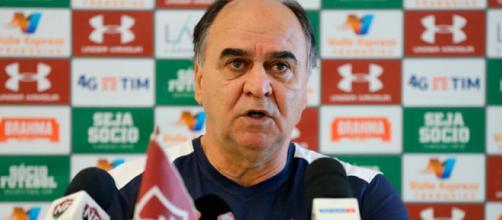 Marcelo Oliveira ainda busca esquema ideal, mas confia em recuperação no Brasileiro (Foto: Lucas Merçon)