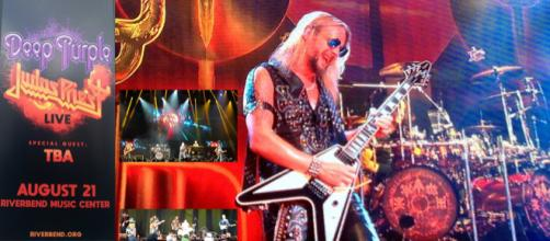 Ritchie Faulker of Judas Priest (pictured) displayed why he is one of the best guitarists extant today. [Images via Samuel Di Gangi]
