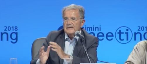 Romano Prodi parla di economia e immigrazione al Meeting di CL 2018