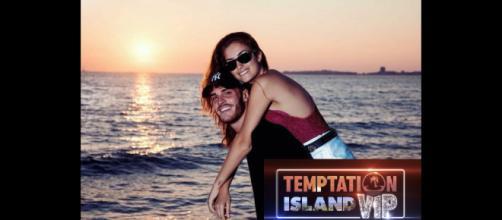 Temptation Island Vip: Nilufar Addati e Giordano Mazzocchi.