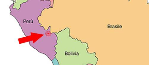 Terremoto de 7.1 grados Perú y paises vecinos