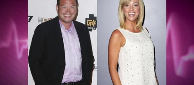 Jon and Kate Gosselin, divorced since 2009, resume disputing child custody in media. [Image Source: The Hollywood Gossip - YouTube]