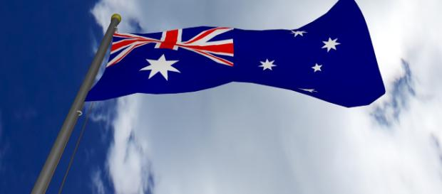 The Australian Flag, a frequen companion of Australian politicians. [Image via marselelia - Pixabay]