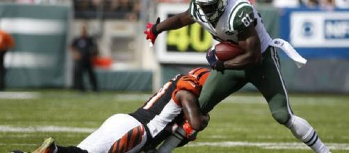 Quincy Enunwa emerging as a 'playmaker' in Jets' offense. [Image Source: USA Today - YouTube]