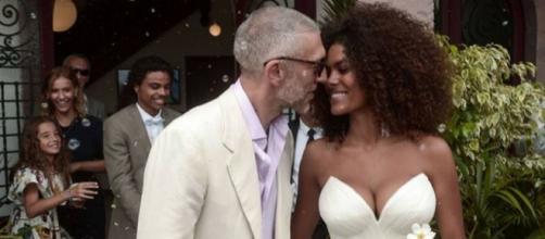 Vincent Cassel e la sua Tina finalmente sposi