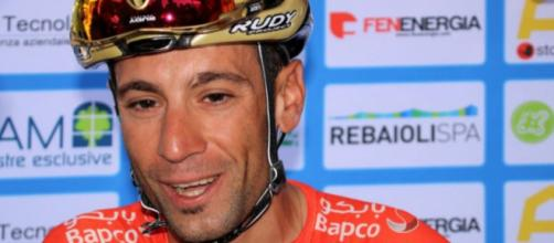 Vincenzo Nibali è al rientro dopo l'incidente del Tour