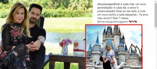Após comemorar sete meses de namoro, Zilu já pensa em se casar novamente.
