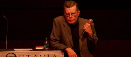 Stephen King is a horror author who has had many film and TV adaptations of his work. [Image Stephanie Lawton/Wikimedia]