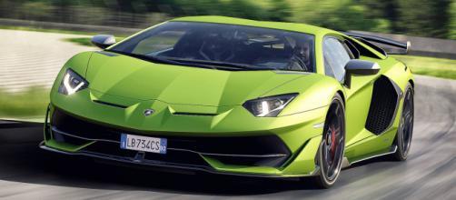 La nuova Lamborghini Aventador SVJ