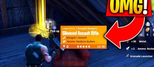 New assault rifle is coming to Fortnite. [Image Credit: Chuck / YouTube]