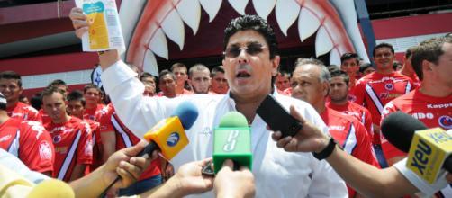 Tiburones Rojos se unen a la Alcaldía de Veracruz para celebrar el triunfo.
