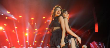 Concierto OT - Aitana y Ana Guerra cantan 'Lo malo' - rtve.es