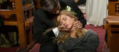 Anticipazioni Una Vita: Elvira perde i sensi durante le nozze di Simon e Adela