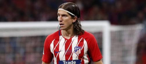Filipe Luis, pourtant dans le viseur du PSG, n'a pas fait l'objet d'une seule offre de la part des parisiens pour le moment.