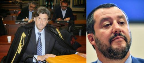 Gianni Alemanno vuole denunciare il pm che indaga Matteo Salvini