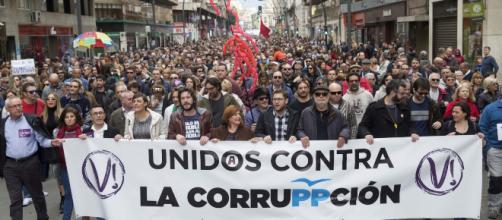 La preocupación por la corrupción ha subido de un 0,8% en 2008 a un 45% en 2018