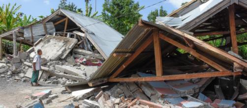 Terremoto di Lombok, in Indonesia