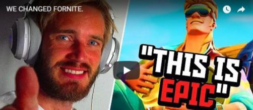 Top YouTuber PewDiePie in his latest upload. [Image source: PewDiePie/YouTube]