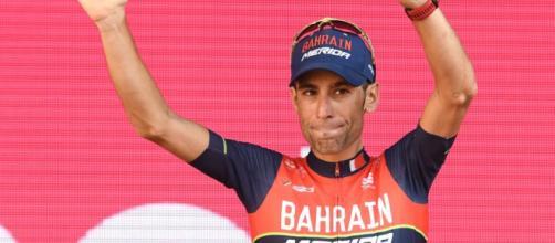 Vincenzo Nibali è al rientro dopo l'incidente al Tour de France