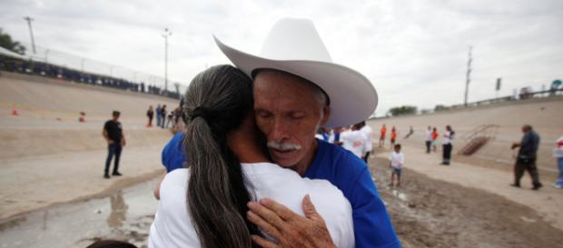 Familiares de México y EEUU se reencuentran, gracias a programa gubernamental. - univision.com