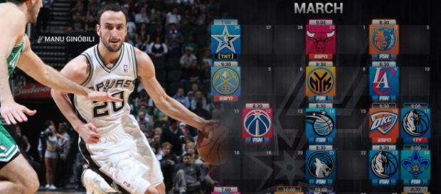 Photo of Manu Ginobili with San Antonio Spurs. - [Michael Tipton / Flickr]