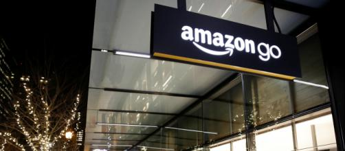 Amazon Go stores are a cause for concern among Amazon competitors. [image source: CBS - YouTube]