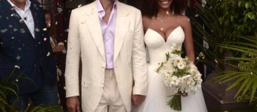 El actor Vincent Cassel se casa con la modelo Tina Kunakey - chismolandia.com
