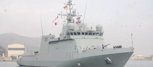 Audaz: el nuevo buque de guerra de la Armada