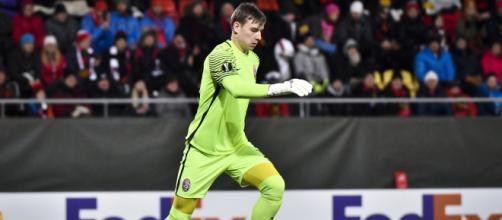 El Real Madrid cede al joven Ucraniano Andriy Lunin al Leganés