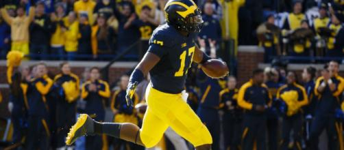Michigan and Notre Dame open the season Saturday. [Image via USA Today Sports/YouTube]