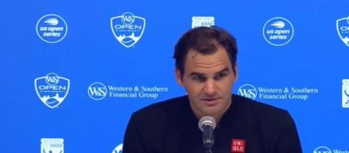 Roger Federer US Opne 2018 - Image credit - ATP | Djoker Nole | YouTube