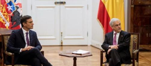 Sánchez y Piñera difieren sobre la actuacion internacional ante la crisis en Venezuela