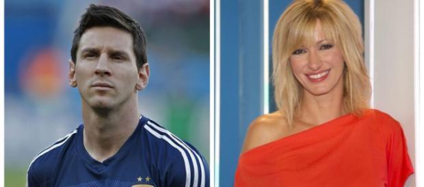 Leo Messi y Susanna Griso en imagen
