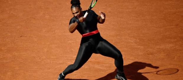 Serena Williams OK with French Open despite catsuit ban: 'When it ... - (Image via ESPN.com/Youtube)