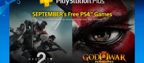 Photo of free games for September. [Image Source: PlayStation - YouTube]