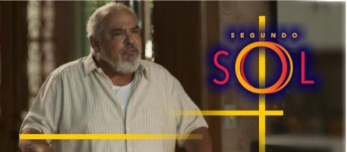 Agenor volta a aprontar na novela Segundo Sol.