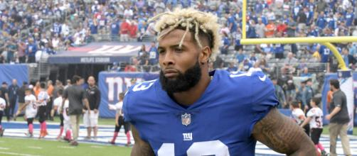 Giants, Odell Beckham Jr. finalize massive five-year contract extension. - [ESPN / YouTube screencap]