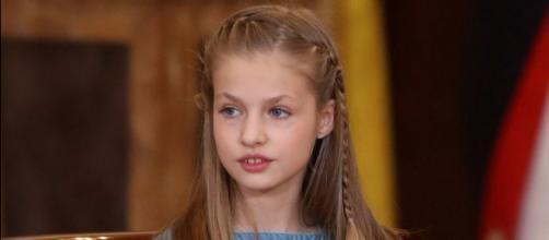 La princesa Leonor en imagen de archivo