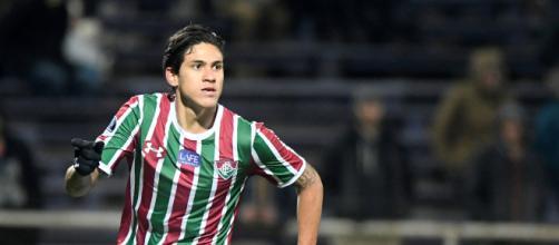 Mesmo lesionado, Pedro segue na mira dos clubes do exterior (Foto: Portal Globo Esporte)