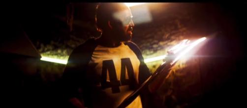Nicolas Cage stars in the horror film 'Mandy.' [Image Source: RLJE - YouTube]