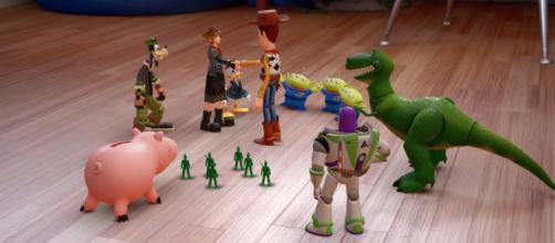 'Toy Story' is one of the many Disney Worlds featured in 'Kingdom Hearts 3' [Image Credit: GameSpot/YouTube screencap]