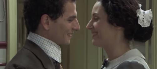 Anticipazioni Una Vita: Lolita e Antonito si baciano dopo un ballo galeotto