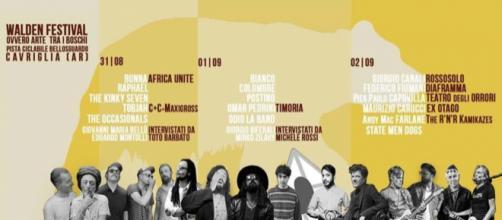 Walden Festival a Cavriglia 2018: dal 31 agosto al 2 settembre