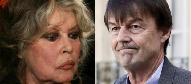 Brigitte Bardot heureuse du départ de Nicolas Hulot